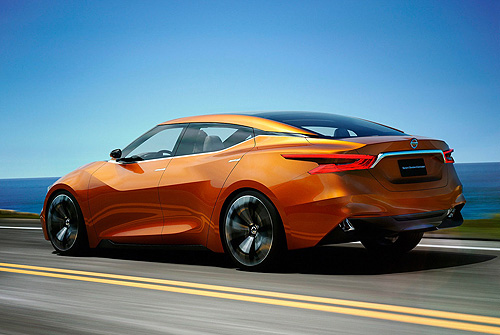 運動風《Nissan Sport Sedan》新世代Maxima概念化身?