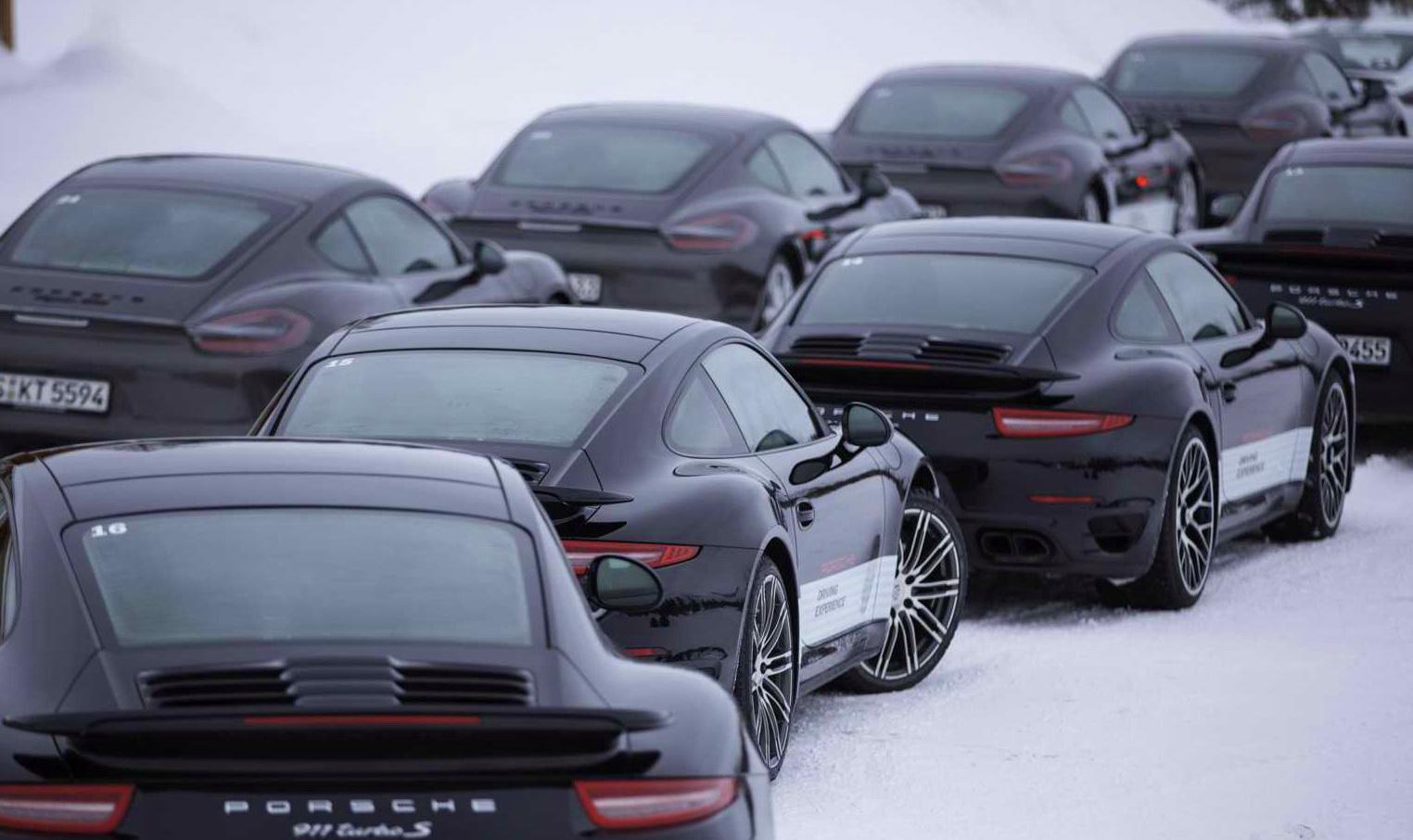 保時捷《Porsche 2015 Winter Driving Experiences》冬季安全駕訓活動讓人流連忘返