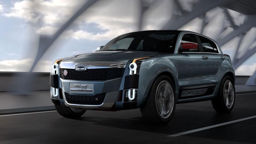 《QOROS 2 SUV PHEV Concept》休旅新紀元 中國歐風品牌引領風潮
