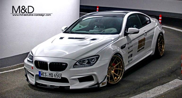 寶馬《BMW 650i Coupe》510hp動力加持 M&D寬體套件增添視覺饗宴