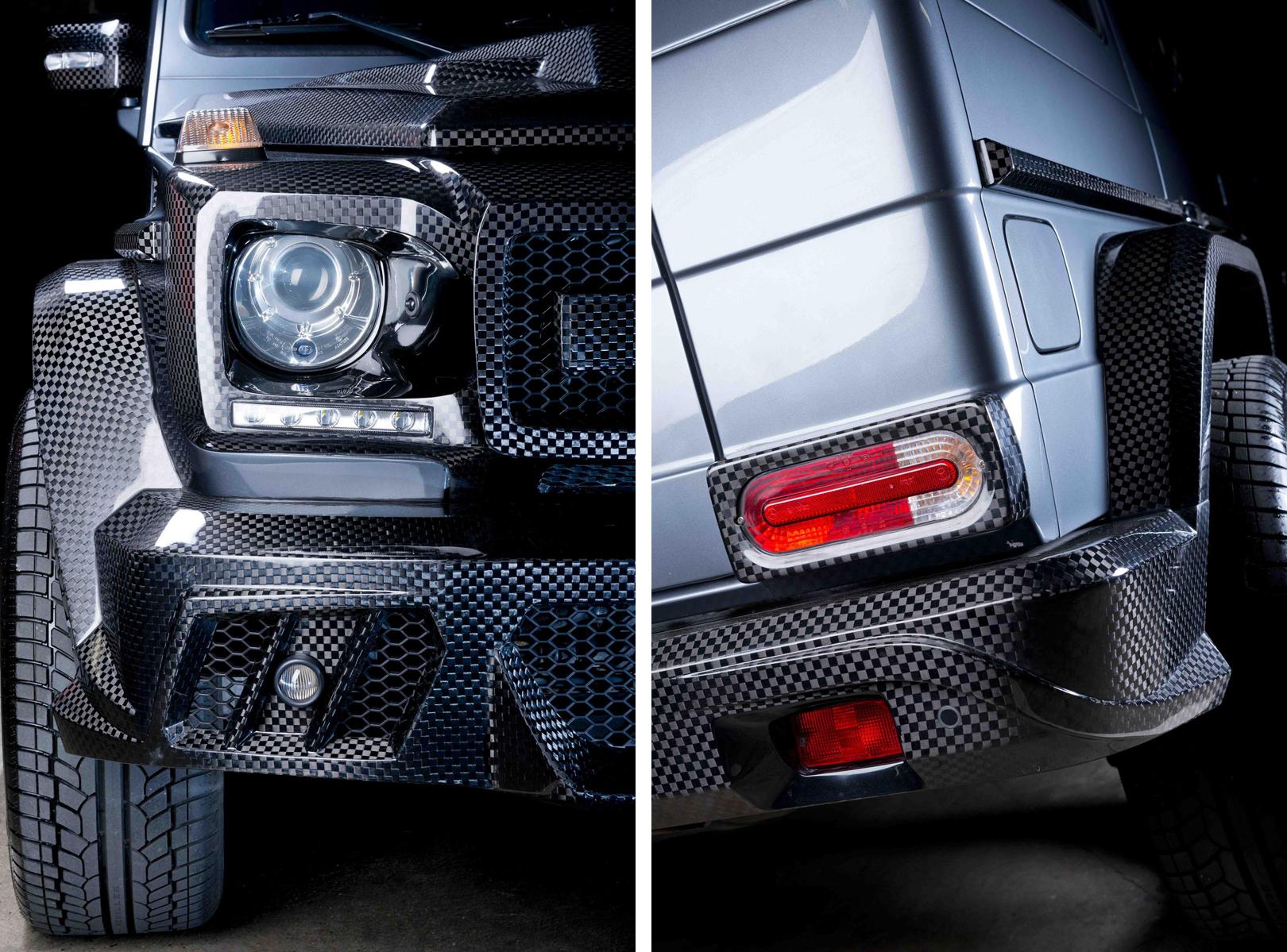 賓士《Mercedes-Benz G63 AMG》不想太經典? Prindiville推出碳纖維鎧甲勁裝