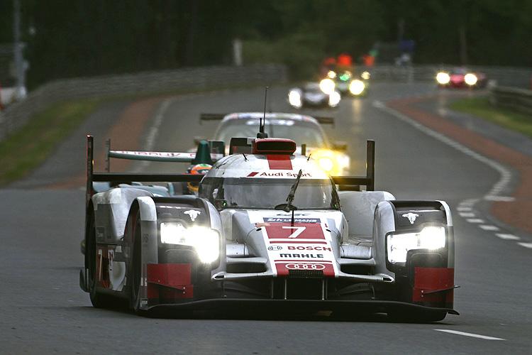 Porsche展現強勢速度 919 Hybrid稱霸利曼賽前測試