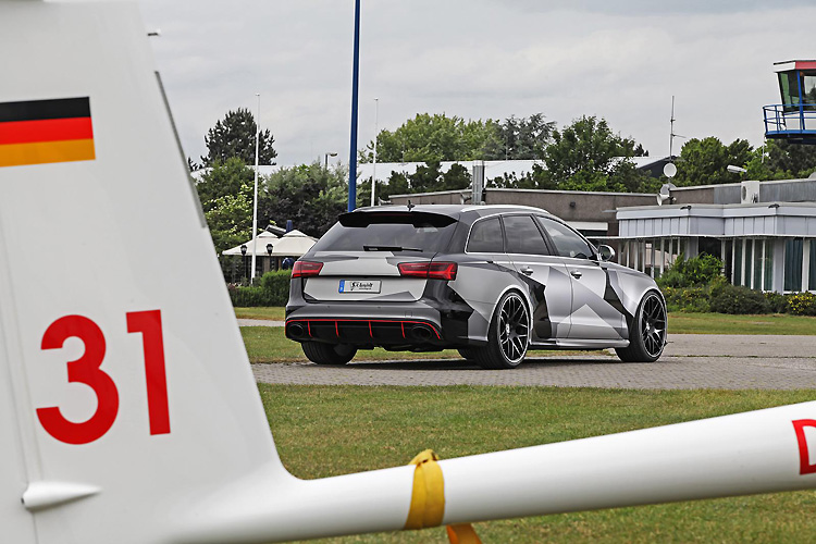 奧迪《Audi RS6 Avant》馬力再升級 Schmidt Revolution改裝套件輸出直上680hp