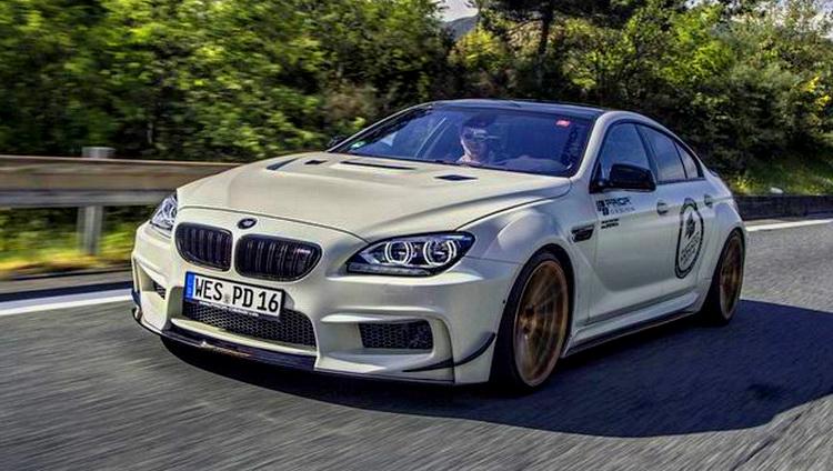 寶馬《BMW M6 GranCoupe》結合寬體仿賽套件 Prior Design打造強悍力作登場