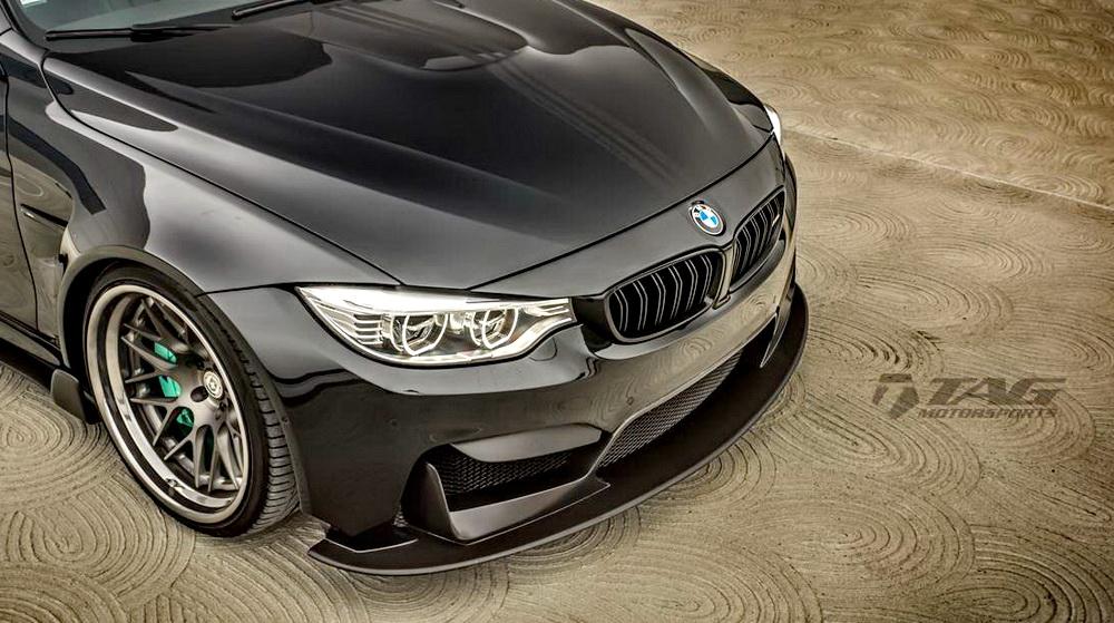 寶馬《BMW M4》被TAG Motorspot精心打造 「Vorsteiner GTRS4」套件提升視覺焦點