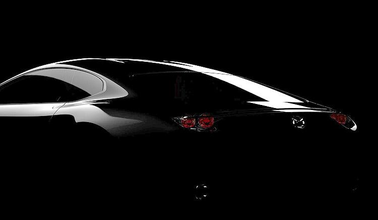 RX-7傳人? 馬自達《Mazda》全新概念跑車概念微露美背預約東京車展問世
