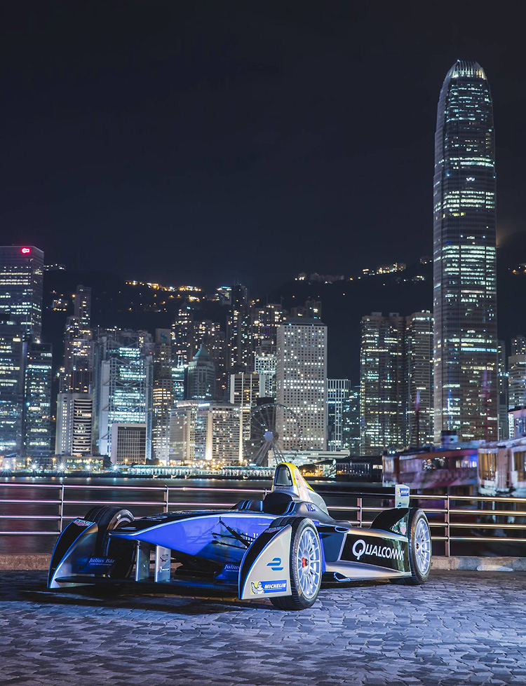 電驅奔馳於中環  Formula E香港e-Prix 2016年10月開跑