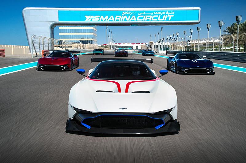 終極駕訓班 首批《Aston Martin Vulcan》車主的交車前預習