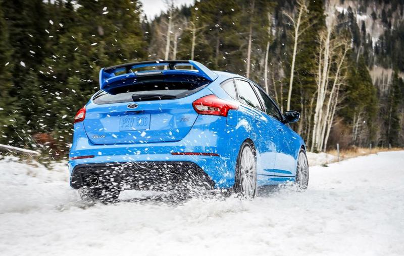 福特《Ford Focus RS》化身冰上悍將!北美推出原廠冬季用輪組套件