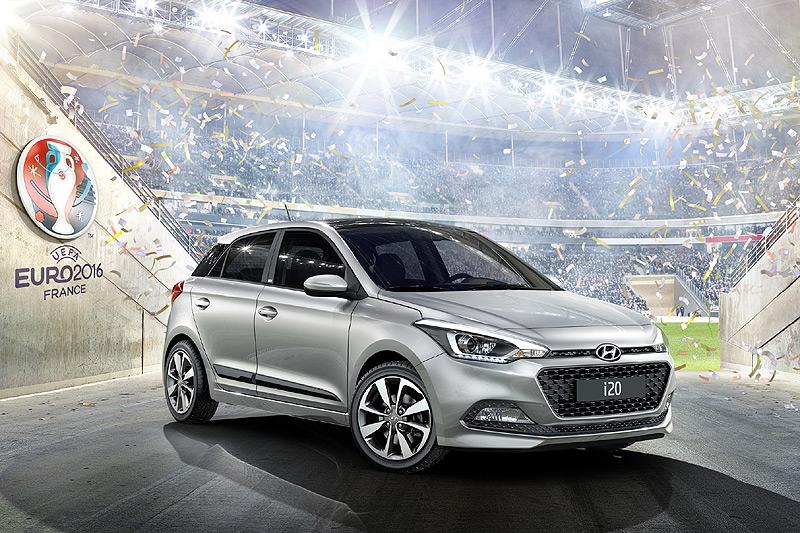 歐洲國家盃特仕款 現代《Hyundai i10 Go!、i20 Go!、i30 Go!》特仕車齊發