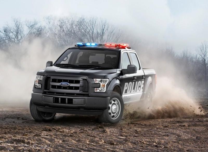 《Ford》原廠特別打造!《F-150 Special Service Vehicle》特殊警用車登場!