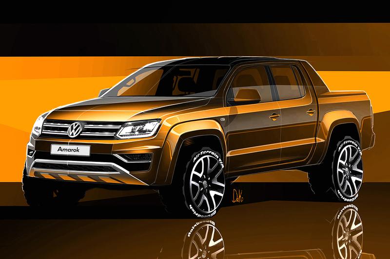 運動、豪華同步升級 《Volkswagen Amarok》小改款即將登場
