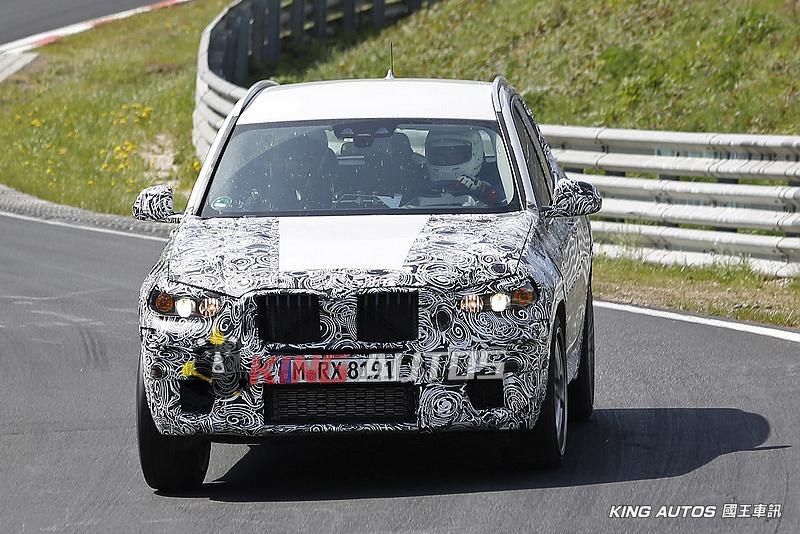 向AMG GLC 63宣戰!搭載M3動力的寶馬《BMW X3 M》偽裝測試再捕獲