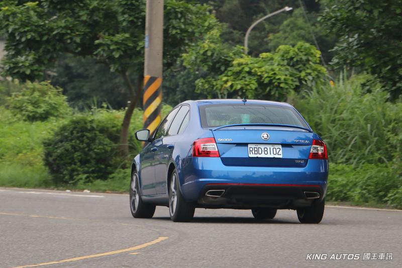 如何能夠不想她 ─《Škoda Octavia RS 2.0 TSI》試駕報導