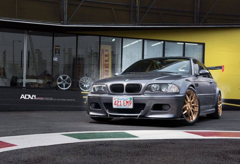 大型尾翼加上防滾籠 《BMW E46 M3》賽道式樣躍躍欲試