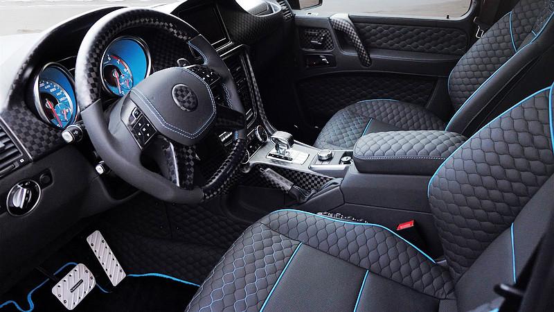 碳纖上身藍色不憂鬱 Mansory打造新版《Mercedes-Benz G 500 4x4²》展現無比霸氣