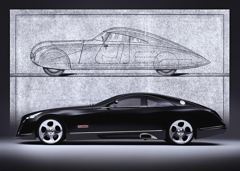 6米雙門巨獸 《Mercedes-Maybach》Coupé概念車即將現身