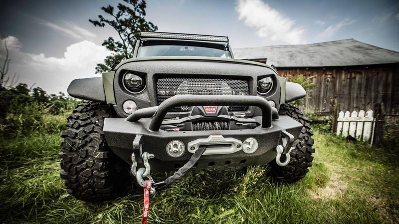 效法《Mercedes-Benz G-Class》 《Jeep Wrangler》竟然也出現6x6六輪車型