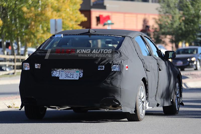 與十代Civic共用底盤 全新本田《Honda Accord》原型車出沒