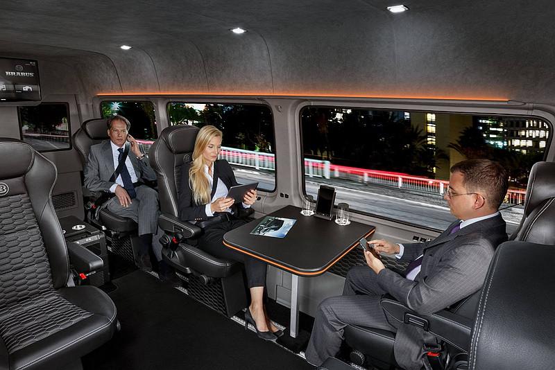 要價更勝Maybach 《Mercedes-Benz Sprinter》化身Brabus Conference Lounge展現豪