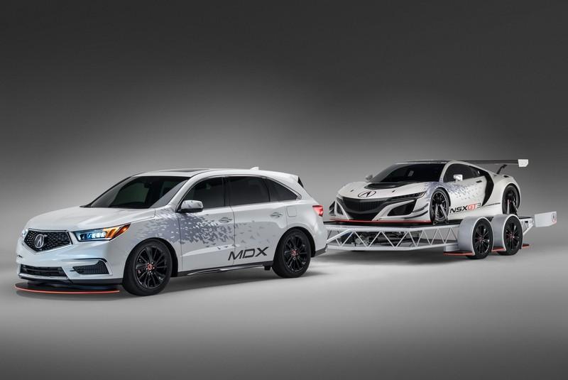 美國SEMA Show改裝車展預告 《Acura MDX》將拖著《NSX GT3》出場