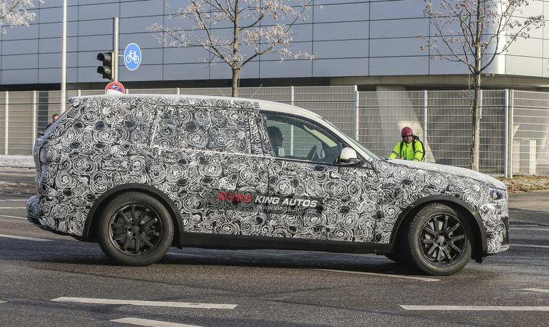 旗艦霸氣藏不住 《BMW X7》偽裝原型車再度現蹤