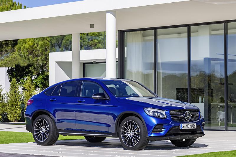 【國王快訊】雙汽油動力編成 《Mercedes-Benz GLC Coupé》259萬起搶攻豪華跑旅市場