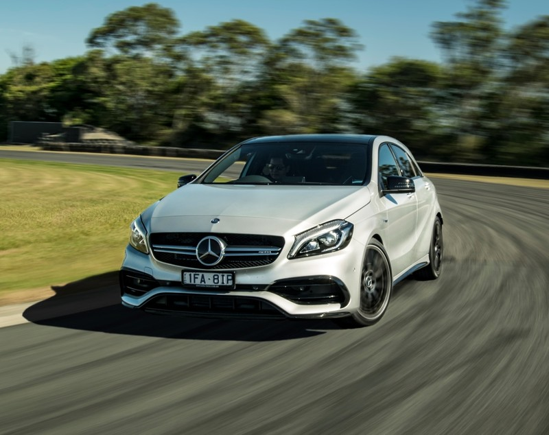 性能持續進化 下一代《Mercedes-AMG A 45》將突破400匹馬力