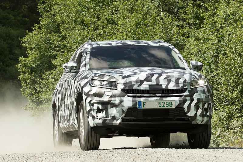 移植2.0 BiTDI雙渦輪增壓引擎 《Škoda Kodiaq RS》即將現身