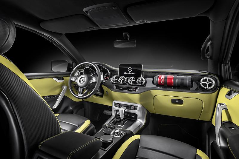 跨界進攻「皮卡」市場 《Mercedes-Benz X-Class》最快今年底上市