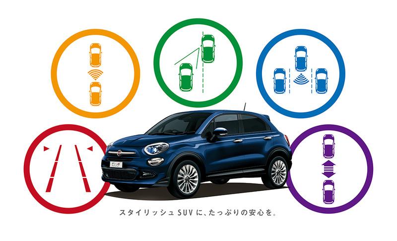 日本限量《Fiat 500X Safety Package》安全防護更周全