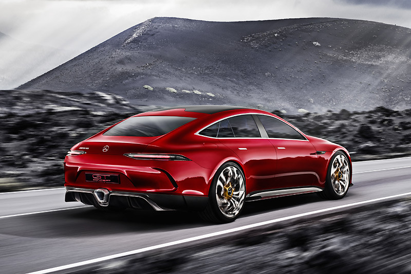 預告品牌四門GT即將問世 《Mercedes-AMG GT Concept》驚豔日內瓦車展