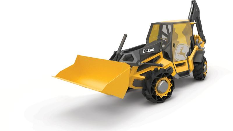 跨界合作新概念 《BMW》與工程機具品牌《John Deere》合作設計挖土機