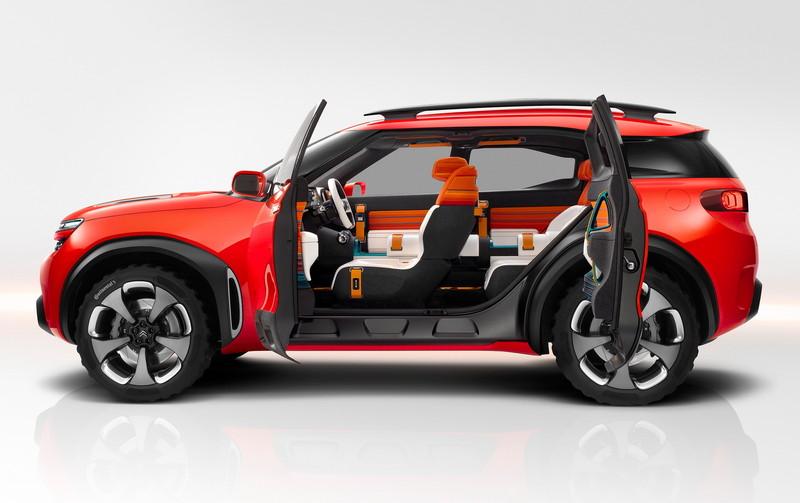 概念成真《Citroen C5 Aircross》預約2017年上海車展全球首演