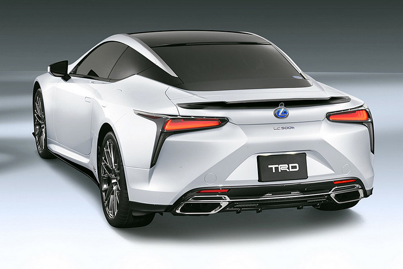 凌志旗艦轎跑更添動感 TRD為《Lexus LC》推出專屬車身空力套件