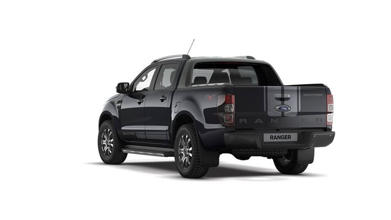 《Ford Ranger WildTrak Jet Black Edition》馬來西亞酷黑登場