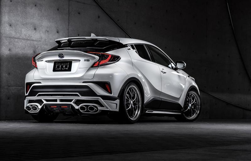 M'z Speed釋放跑旅靈魂 《Toyota C-HR》專用空力套件即將發售