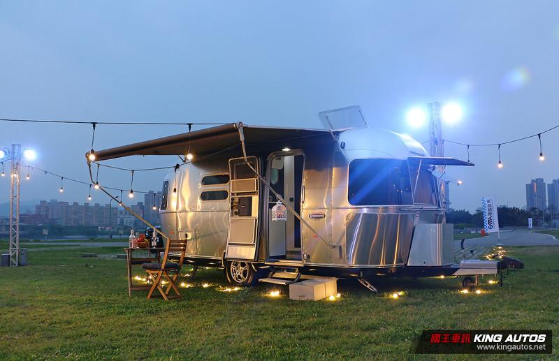 德國歐馬獨家代理 美國頂級露營車《Airstream》正式在台發表