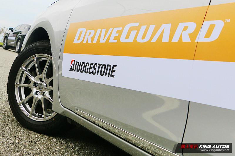 行車安全與經濟耐用兼得─普利司通《Bridgestone DriveGuard》失壓續跑胎測試體驗