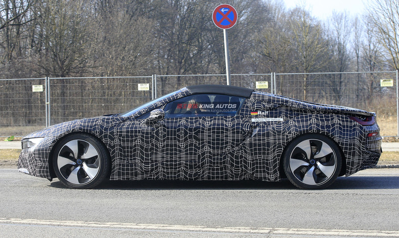 預約2018年登場 《BMW i8 Spyder》原型量產車再度曝光