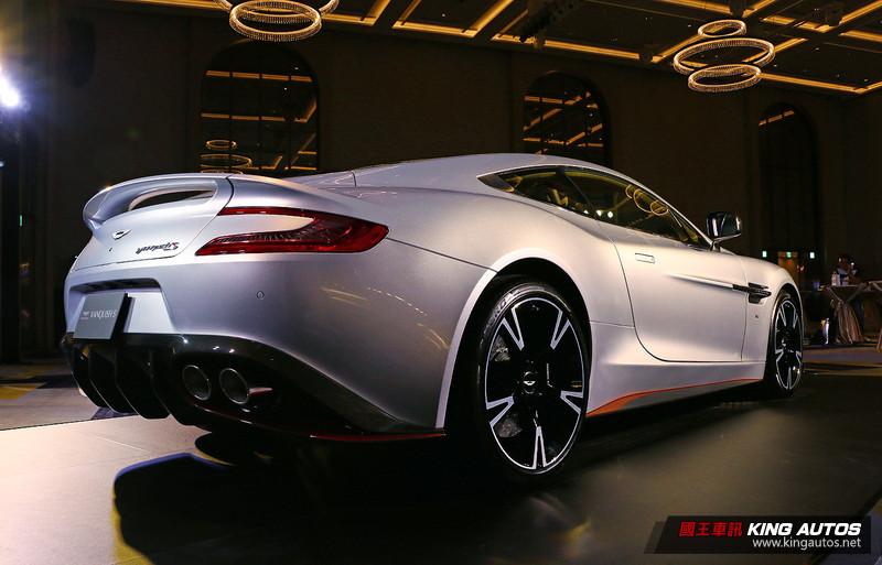 性能升級售價持平 《Aston Martin Vanquish S》1680萬元起抵台發表