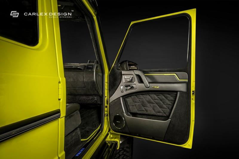 攜手合作 《Brabus G500 4x4²》交由《Carlex Design》打造精工內裝