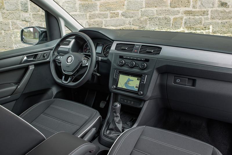 50輛手排限定 《Volkswagen Caddy Van 1.2 TSI》開價61.8萬元入臺