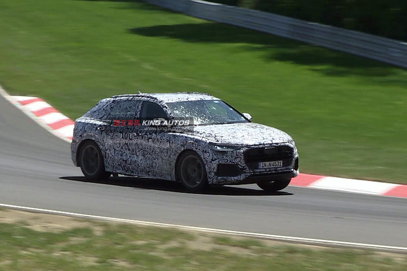 《Audi Q8》偽裝車現身紐柏林  預計2018年發表進入市場