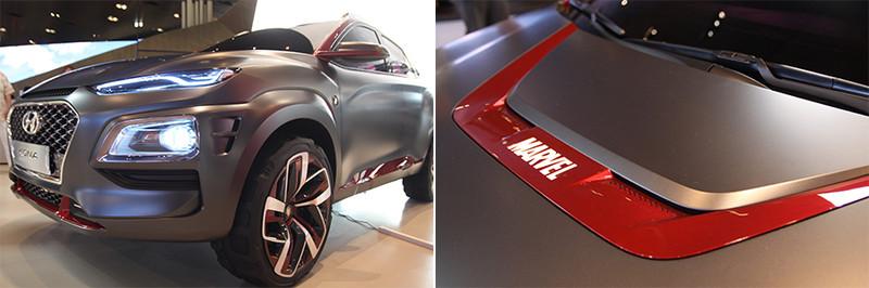 《Hyundai Kona Iron Man Special Edition》鋼鐵人勁裝帥氣上身