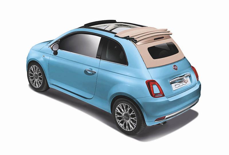 《Fiat 500C Ivory Top》日本限量清涼登場