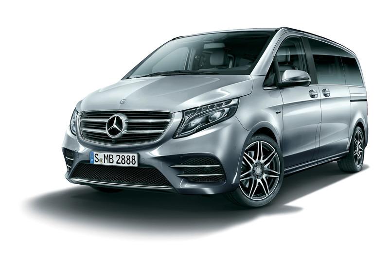 《Mercedes-Benz V 220 d Sports》動感商旅日本登場