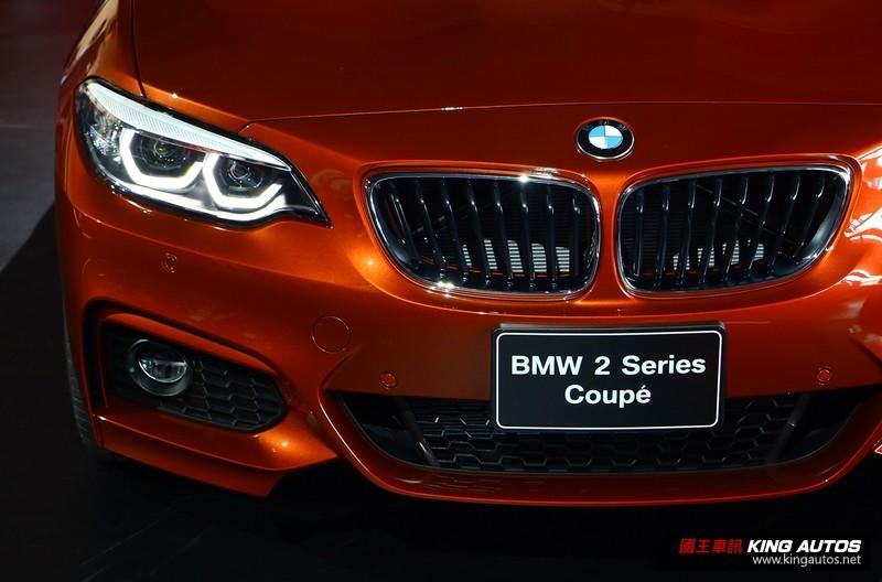 小改款《BMW 2 Series Coupe》臺灣市場正式發表 性能家族《M2》一同登場