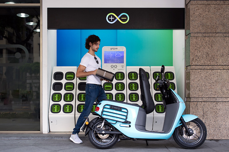 《Gogoro GoStation》電池交換站全台建置正式突破400座