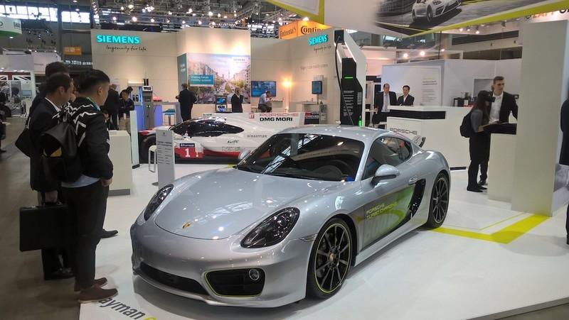預見《Porsche》電動科技 《Cayman E-Volution》電動跑車現身